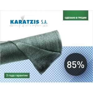 Сетка затеняющая 85% - зеленая, 50х2 м, KARATZIS, Греция фото, цена