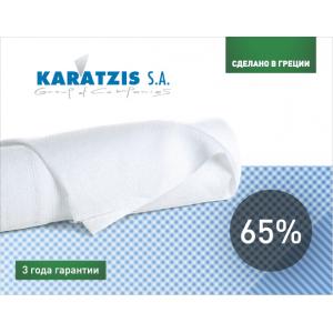 Сетка затеняющая 65% - белая, 50х6 м, KARATZIS, Греция фото, цена