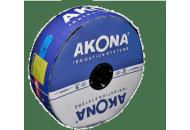 Крапельна трубка Akona (Акона) 6 мілс, 20 см, 1,6 л/ч, 2500 м бухта, Туреччина фото, цiна