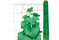 Шпалерная сетка Hortinet (Хортинет) 10м х 1,7м (зеленая), TENAX (Тенакс), Италия  фото, цена