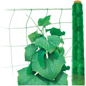 Шпалерная сетка Hortinet (Хортинет) 500м х 1,7м (зеленая), TENAX (Тенакс), Италия  фото, цена