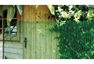 Сетка для декоративного ограждения Хобби 30 5м х 1м (зеленый) фото, цена