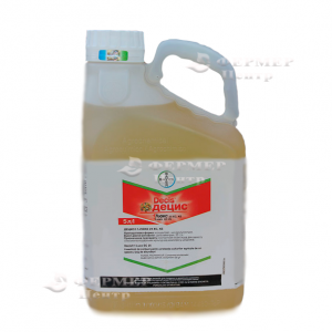 Децис f-люкс к.э. - инсектицид, 5 л, Bayer CropScience AG (Байер КропСаенс), Германия фото, цена