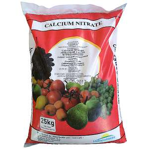 Кальциевая селитра (нитрат кальция), 25 кг, Heliopotasse (Гелиопотес) Франция фото, цена