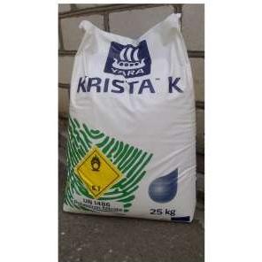 Калиевая селитра (нитрат калия) - водорастворимое удобрение 25кг, Yara (Яра), Россия фото, цена