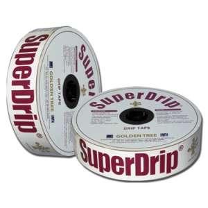 Капельная лента SuperDrip (СуперДрип) 8 милс, 30 см, 3,3 л, 1000 м бухта, Seowon Корея фото, цена