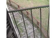 Сетка для декоративного ограждения Эксагон 50м х 1,2м (зеленый)