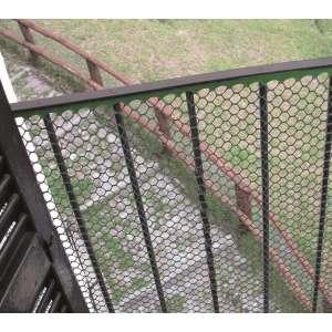 Сетка для декоративного ограждения Эксагон 50м х 1,2м (зеленый) фото, цена