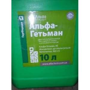 Альфа Гетьман  к.э. - гербицид, 10 л, Альфа-Химгруп, Украина фото, цена