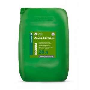 Альфа Бентазон в.р. - гербицид, 20 л, Альфа Химгруп фото, цена