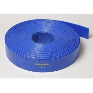 Гибкий шланг LayFlat Sunny Hose (Лейфлет Санни Хос) 3 дюйма, 4 Атм, 100 м бухта, Китай фото, цена