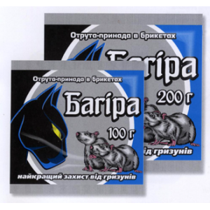 Багира - парафиновые брикеты, 100 гр, Укравит Украина фото, цена