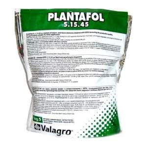 Плантафол 5.15.45 - водорастворимое комплексное удобрение для листовой подкормки, 5 кг, Valagro Италия фото, цена
