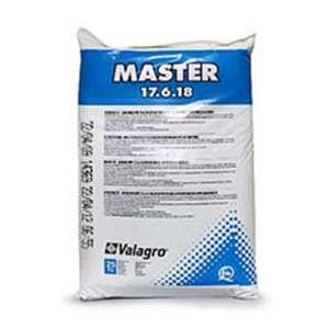 Мастер 17.6.18 - водорастворимое комплексное удобрение с микроэлементами в форме хелатов, 25 кг, Valagro фото, цена