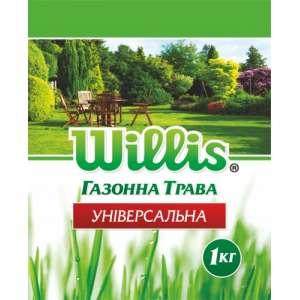 Универсальная - трава газонная, 1 кг, Willis фото, цена