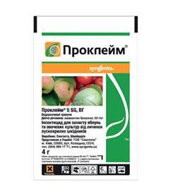 Проклейм 5 SG в.г. - инсектицид (4 г) Syngenta фото, цена